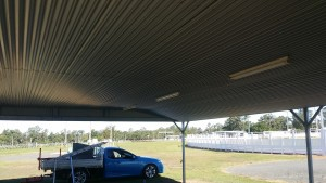 Lining ceiling Showgrounds AprilMay 2017