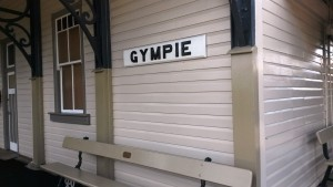 The old railway station at Gympie - looks great.