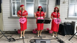 The DooWop Dolls performing - great entertainment.